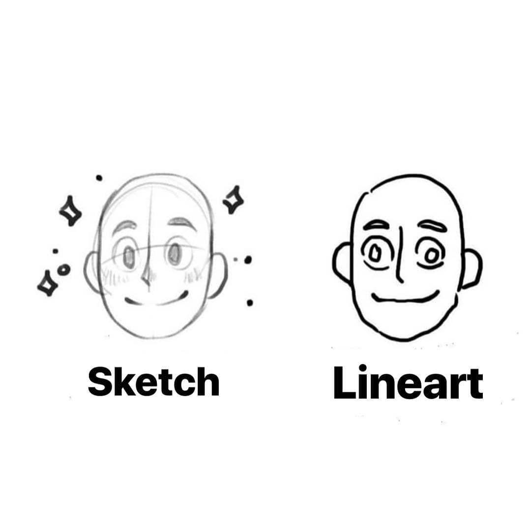 Artist Problems Sketch Vs Lineart Artist Problems Artist Problems Funny Artist Humor