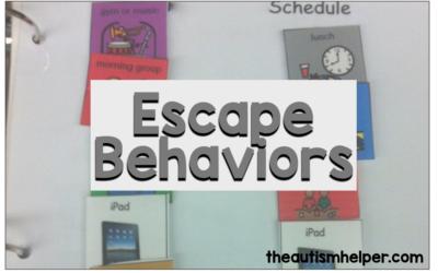 Escape Behaviors