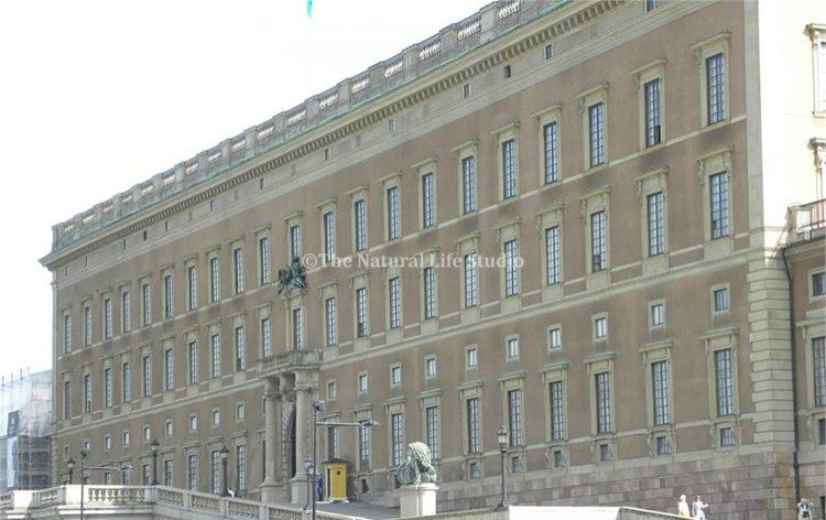 The Royal Palace in Stockholm, Sweden. Home to King Carl XVI Gustaf of Sweden