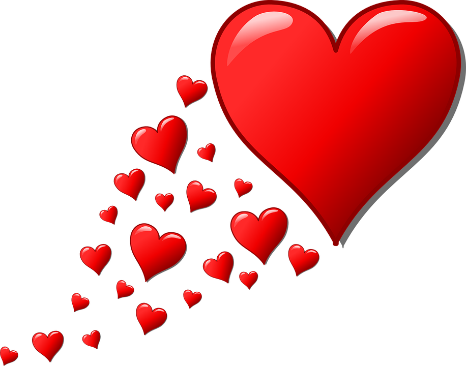 Free Image on Pixabay Hearts, Trail, Valentine, Romantic