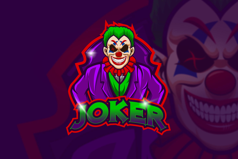 Joker Mascot & Esport Logo (425330) Logos Design