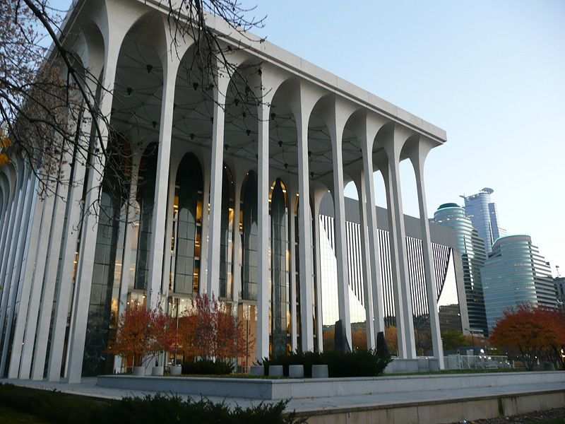 I Ve Long Been A Fan Of Yamasaki S 60 S Take On Classicism In The