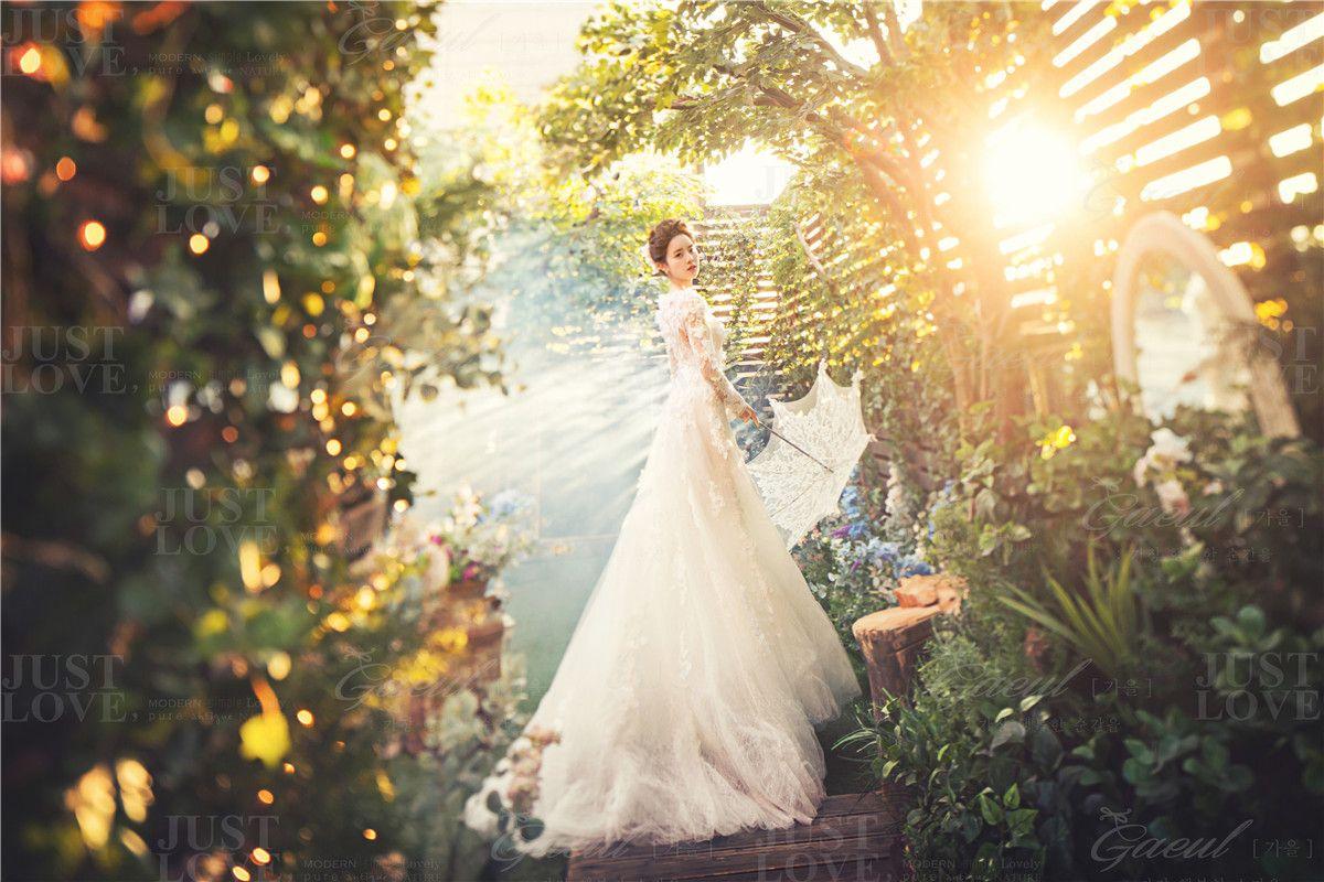Korean Studio Pre Wedding Photography Floral Gaeul Studio Onethreeonefour Wedding Photography Pre Wedding Prewedding Photography