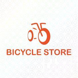 Bicycle Store Logo Kids Logo Design Cycle Logo Bicycle Store