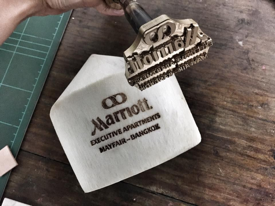 Coconut Branding Iron Custom Made For Marriott For More Info Please Contact Us Info Hexnhitstamps Com Coconut Custom Stamps Branding Iron