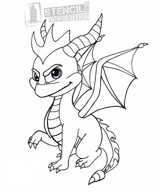 your free spyro stencil here save time and start
