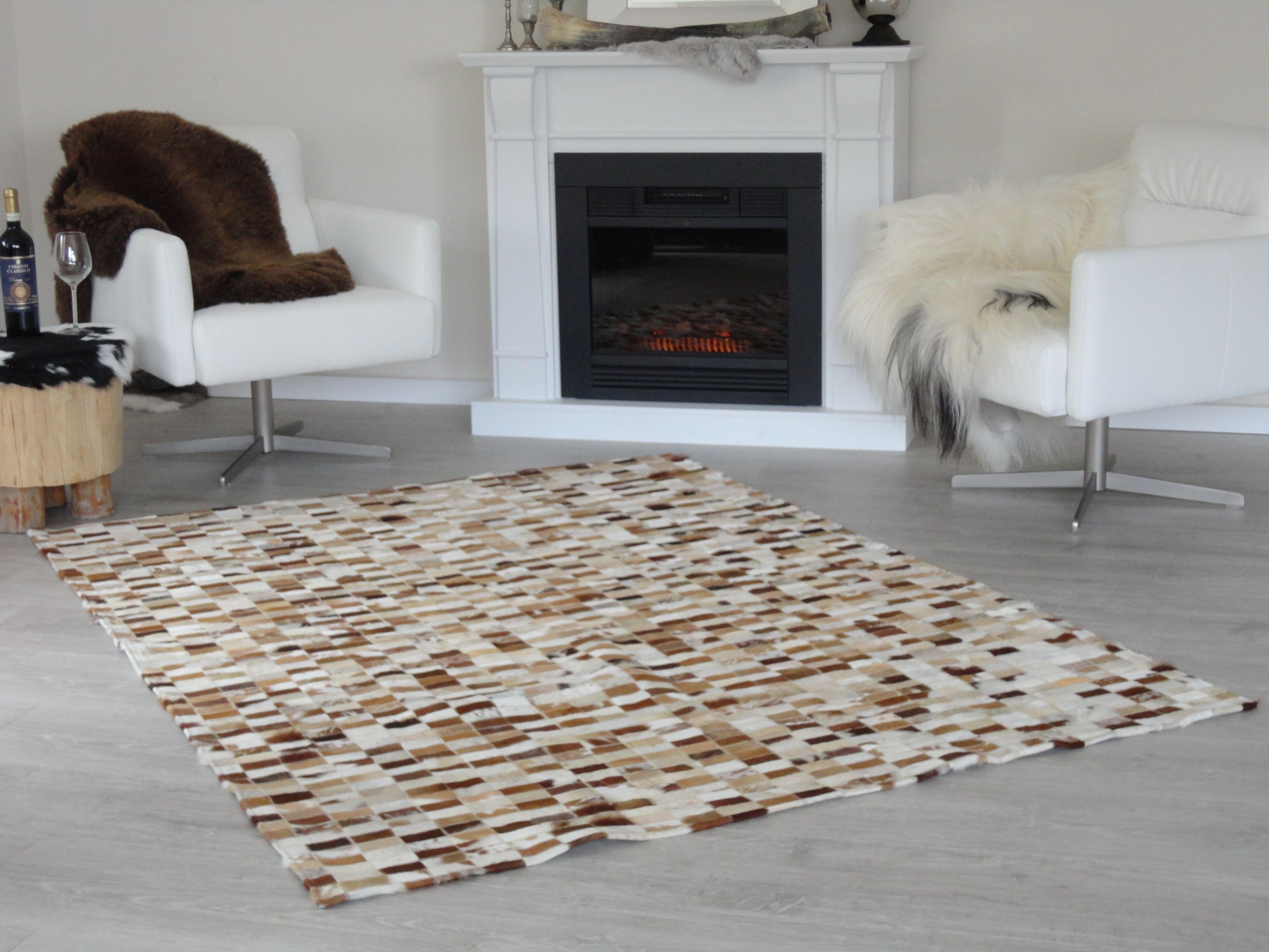 Koeienhuid Woonkamer » Onze woonkamer licht fris grey white hout ...