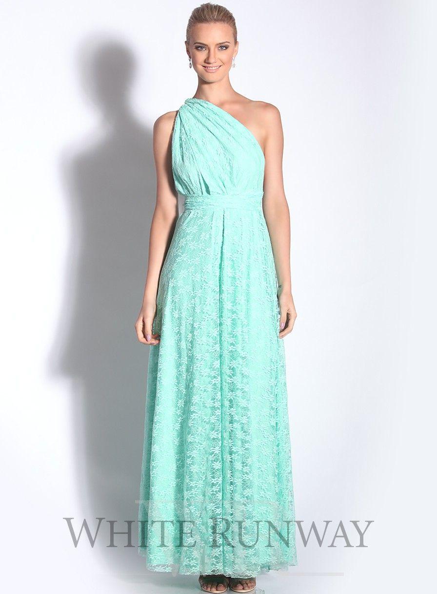 Goddess by Nature Lace Multiway Dress #whiterunway   Multi-Way ...