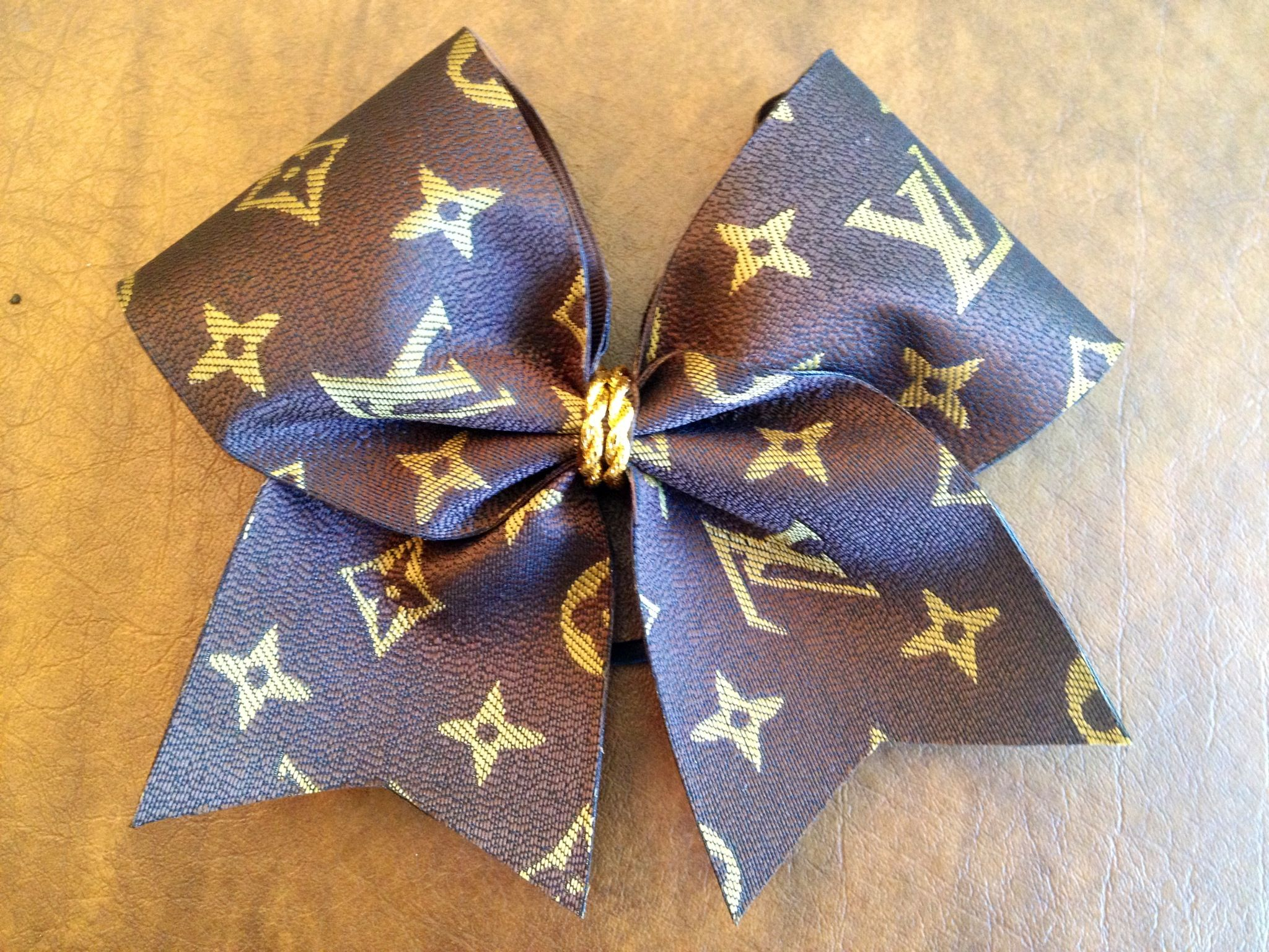 Cheer bow holder for cheer bows and hair bows cheer bow hanger - Louis Vuitton Inspired Cheer Bow Www Etsy Com Shop Fullbidbows Cheer Bowscheerleadinglouis