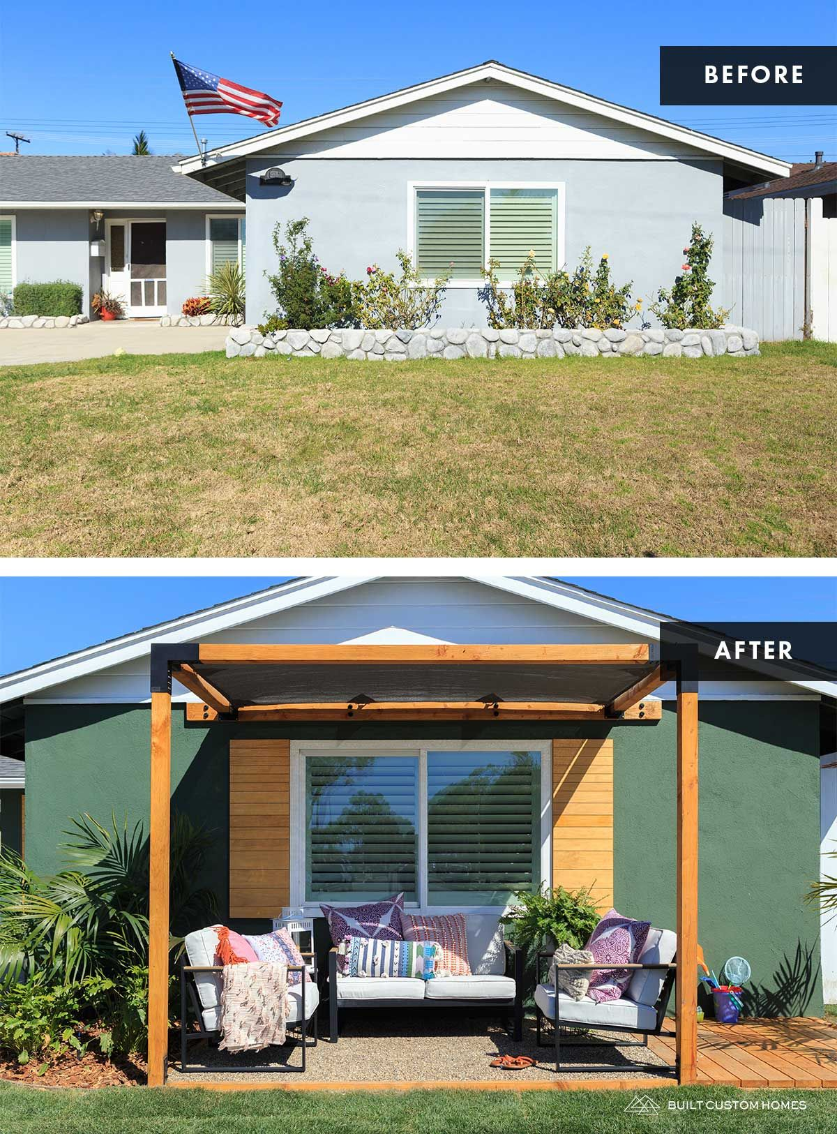 Season 2 Episode 8 You Guys Need A Retreat The Blog By Jasmine Roth Curb Appeal Easy Backyard Diy House Exterior