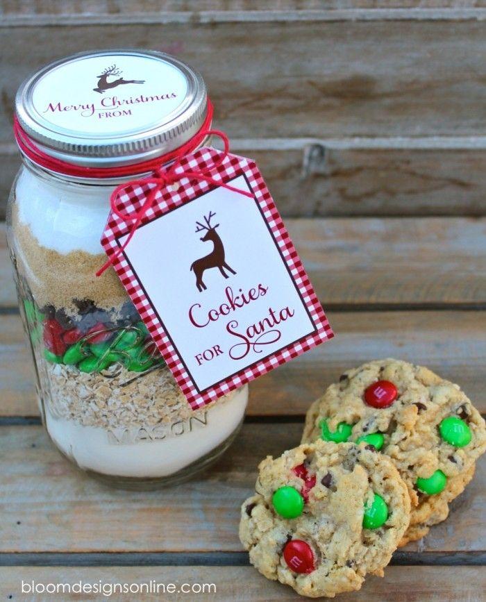 Make It Monday Cookies For Santa Jars Bloom Designs Mason Jar Cookie Recipes Mason Jar Cookies Christmas Cookies Gift