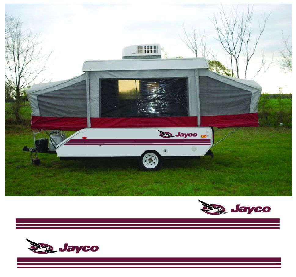 Excited to share this item from my etsy shop jayco pop up camper trailer rv decal kit update graphics sticker stripe custom camper vinyl graphics