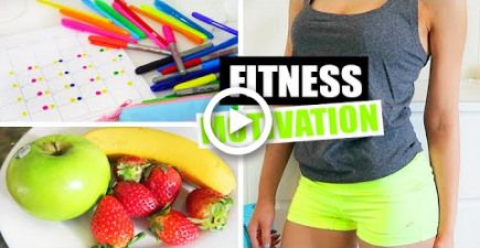 Fitness & Health Motivation, Life Hacks + DIY Inspiration Board #fitness