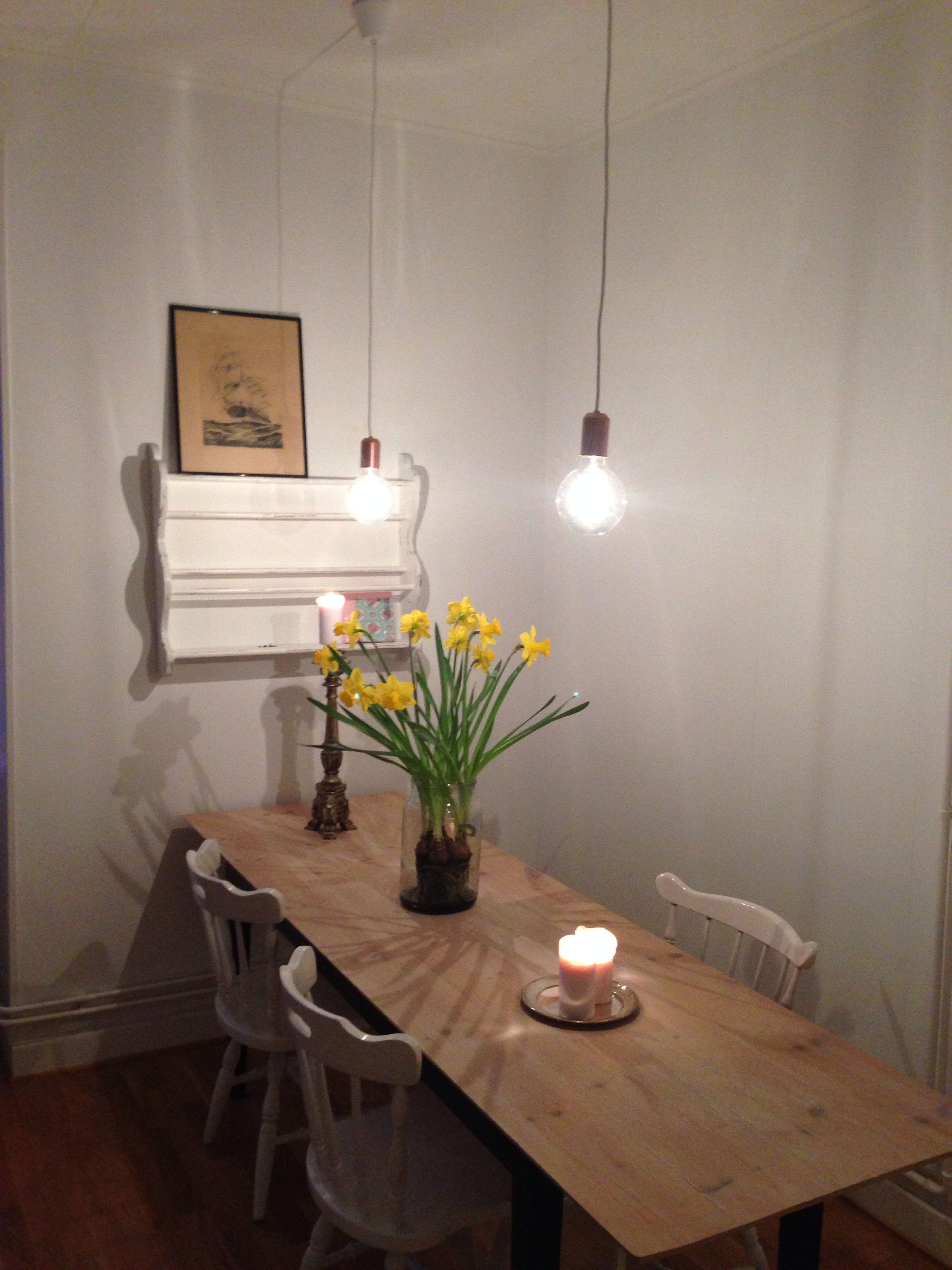 Omgjorda Clas Ohlsson Hangande Glodlampor Hem Inredning Inredning Lampor
