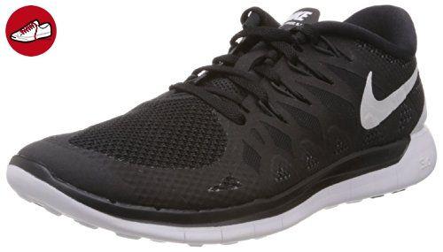 Nike Free 5.0, Herren Laufschuhe, Schwarz (Black/White/Anthracite),