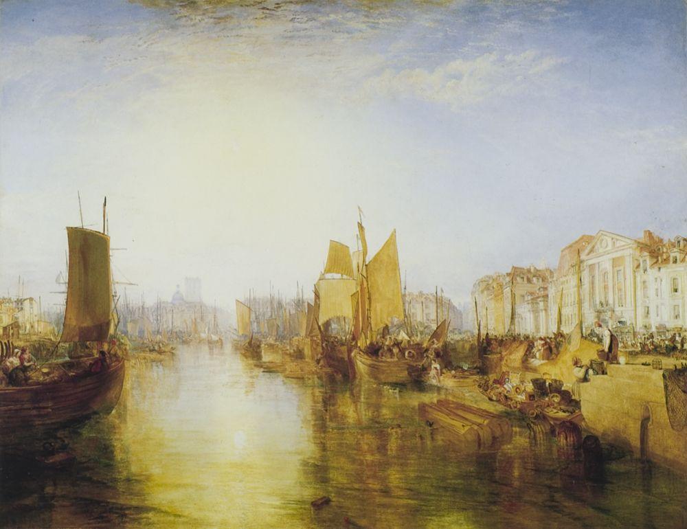J.M.W. Turner, Harbor of Dieppe, 1826