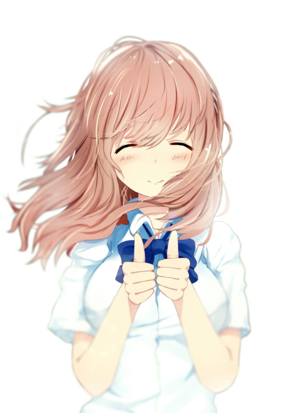 Nishimiya Shouko (Koe no Katachi) Anime, Dễ thương, Hình