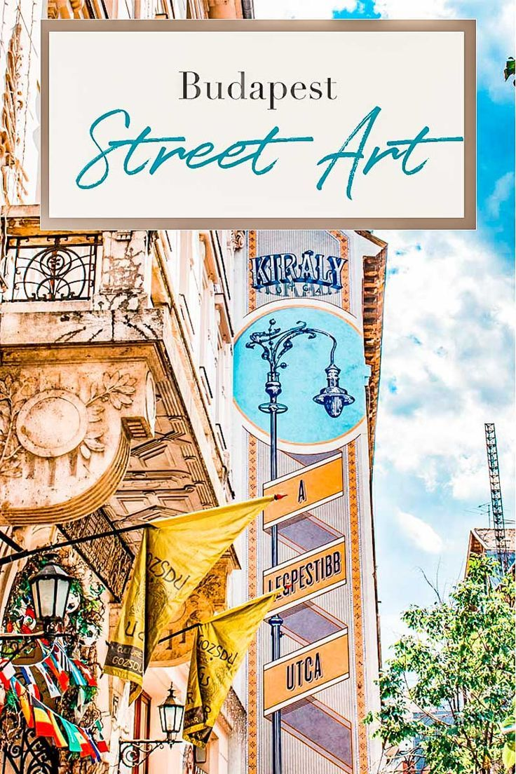 Explore the Jewish Quarter and it's street art | Budapest Connection #Budapest #Europe #Travel #city #Budapest what to do #Budapest attractions