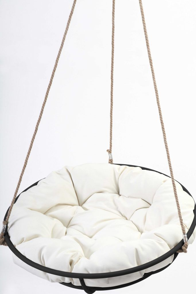 Excellent hanging chair for bedroom ikea hanging papasan for Indoor hanging chair for bedroom