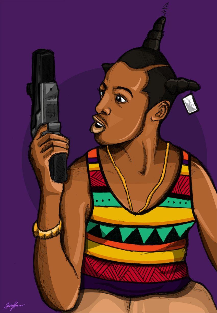 Trill iphone wallpaper tumblr - Carnivour Creates Loc Dog Black Dope Art