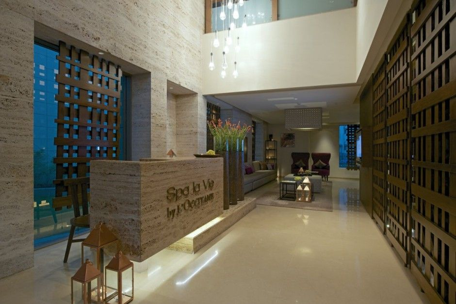 Luxury day spa design by kdnd studio llp modern design for Interieur design salon