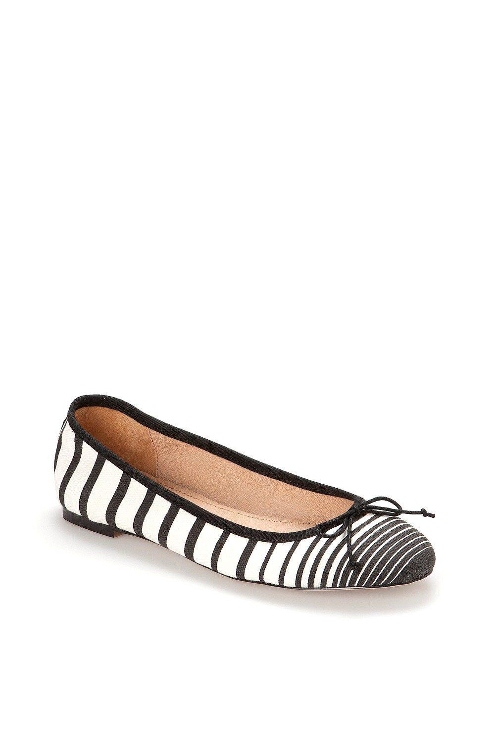 Country Road Women's Flat Shoes Online Textile Ballet