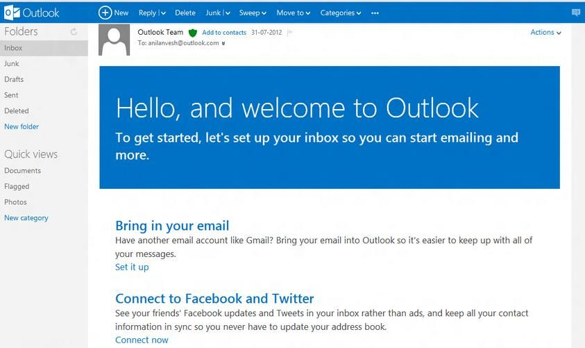 Microsoft Outlook Email Features Tech Knol Microsoft Outlook Outlook Email Outlook
