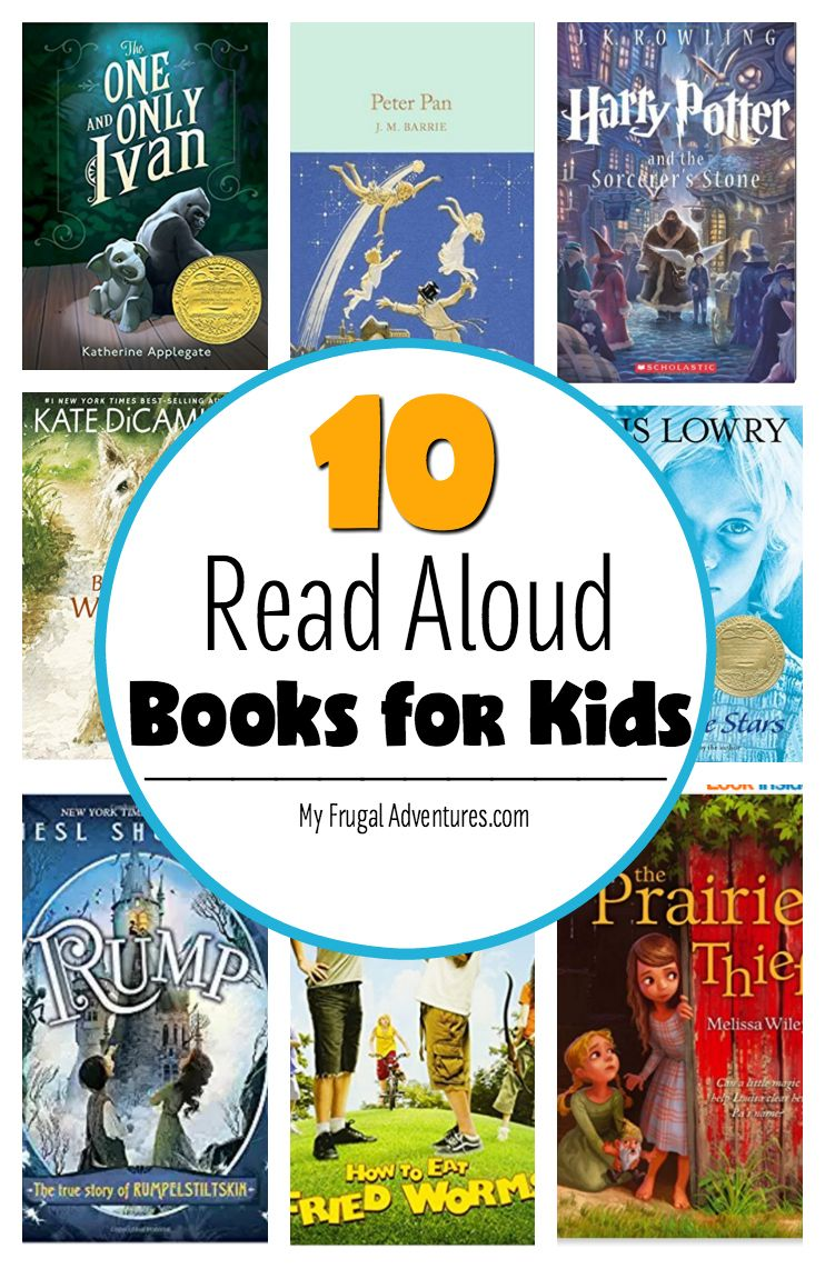 10 fantastic read aloud chapter books for kids read