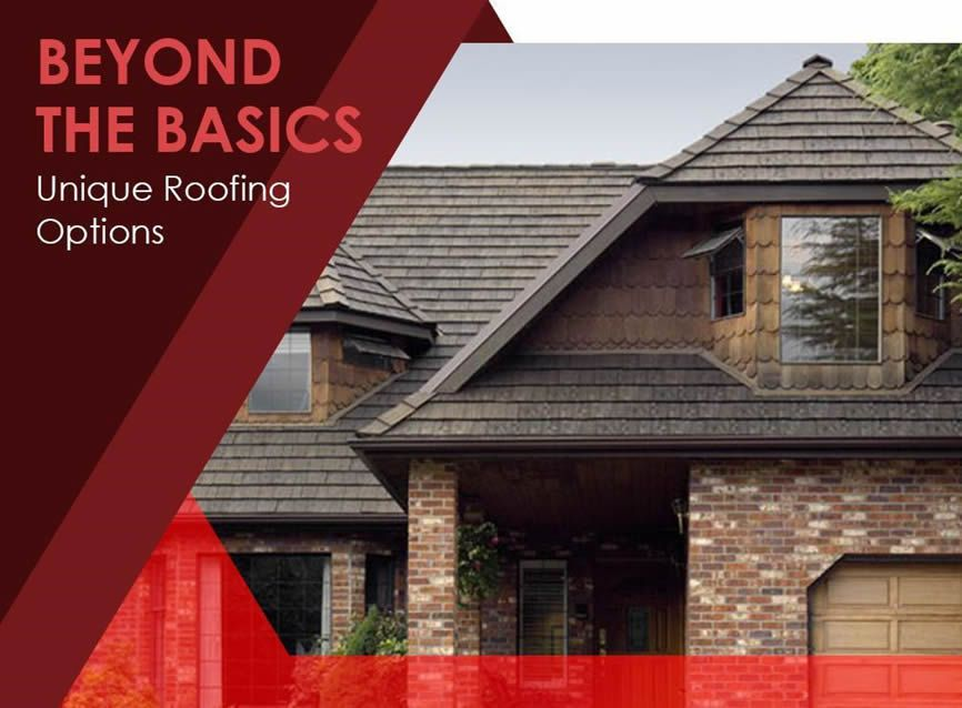 Beyond The Basics Unique Roofing Options To Consider Roofing Options Roofing Home Structure