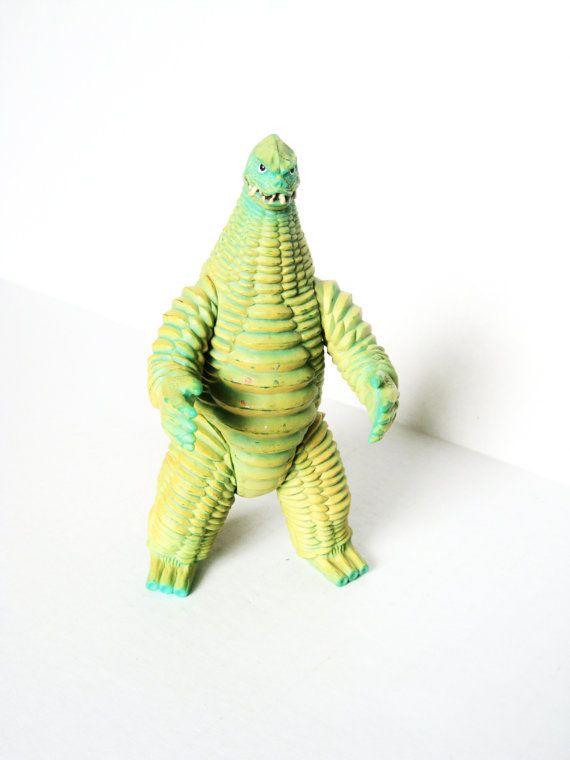 1966 Godzilla Toy By Tokyovintage26 On Etsy 1400 Vintage Action