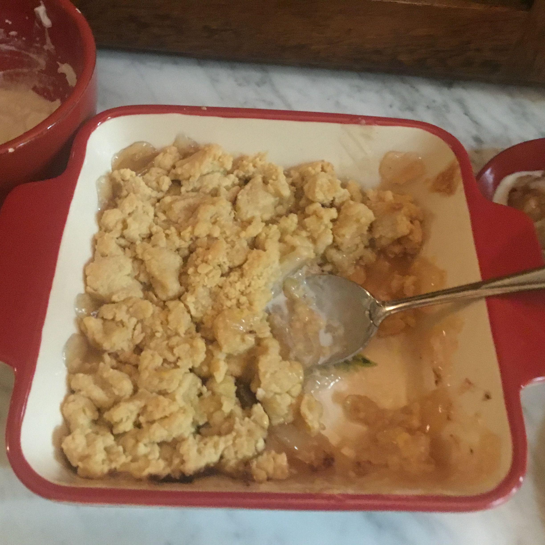 Easy Apple Crisp with Pie Filling
