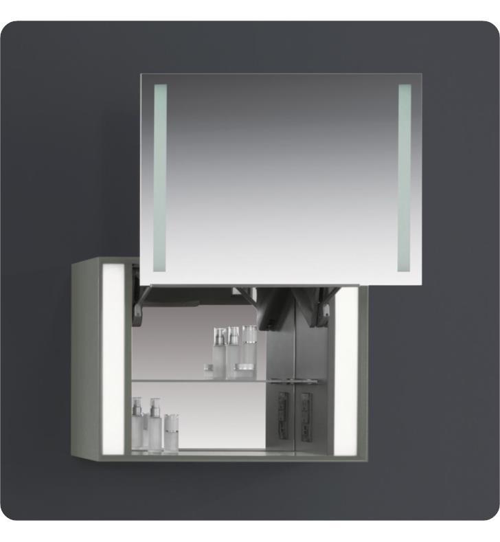Ronbow E015612 E73 Stack 27 Rectangular Frameless Led Mirrored