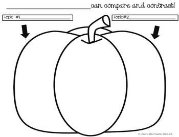 Fall Autumn Theme Graphic Organizers for Nonfiction
