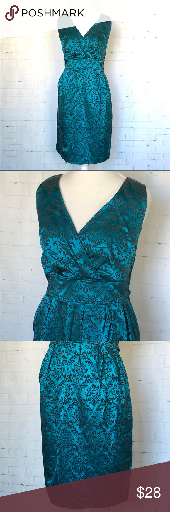 Torrid Jewel tone Damask Print Dress SZ 20 | Torrid, Jewel tones and ...