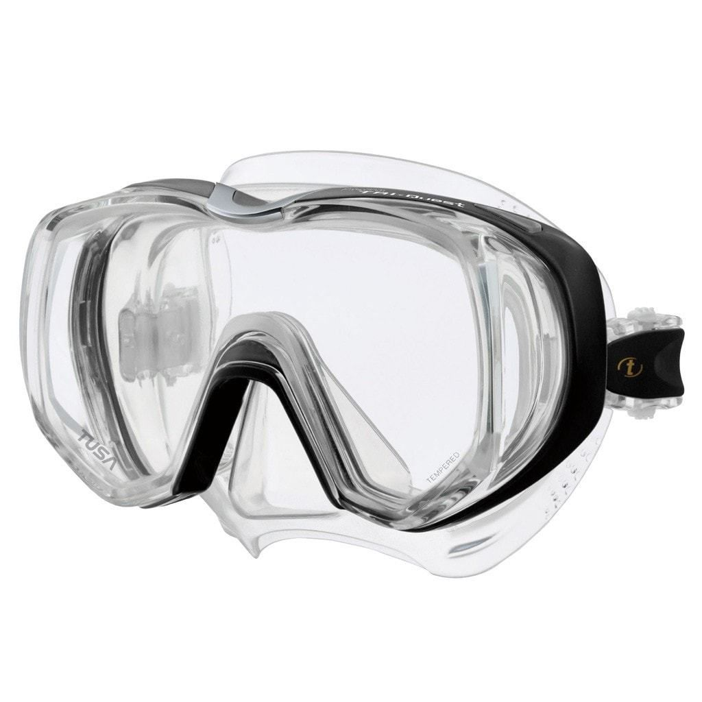 Tusa Freedom Tri Quest Mask Scuba Diving Mask Snorkel Mask Mask