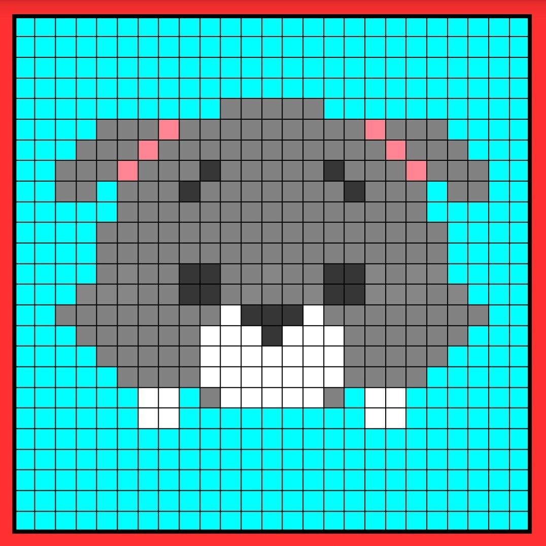 Tramp Tsum Tsum Perler Hama Bead Pattern Crochet C2c