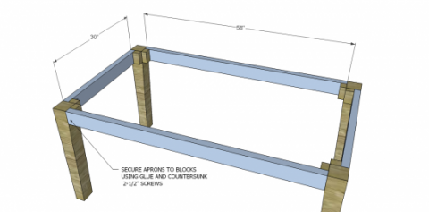 Free DIY Furniture Plans to Build an RH Inspired 1900s Boulangerie Table Without a Kreg Jig   The Design Confidential