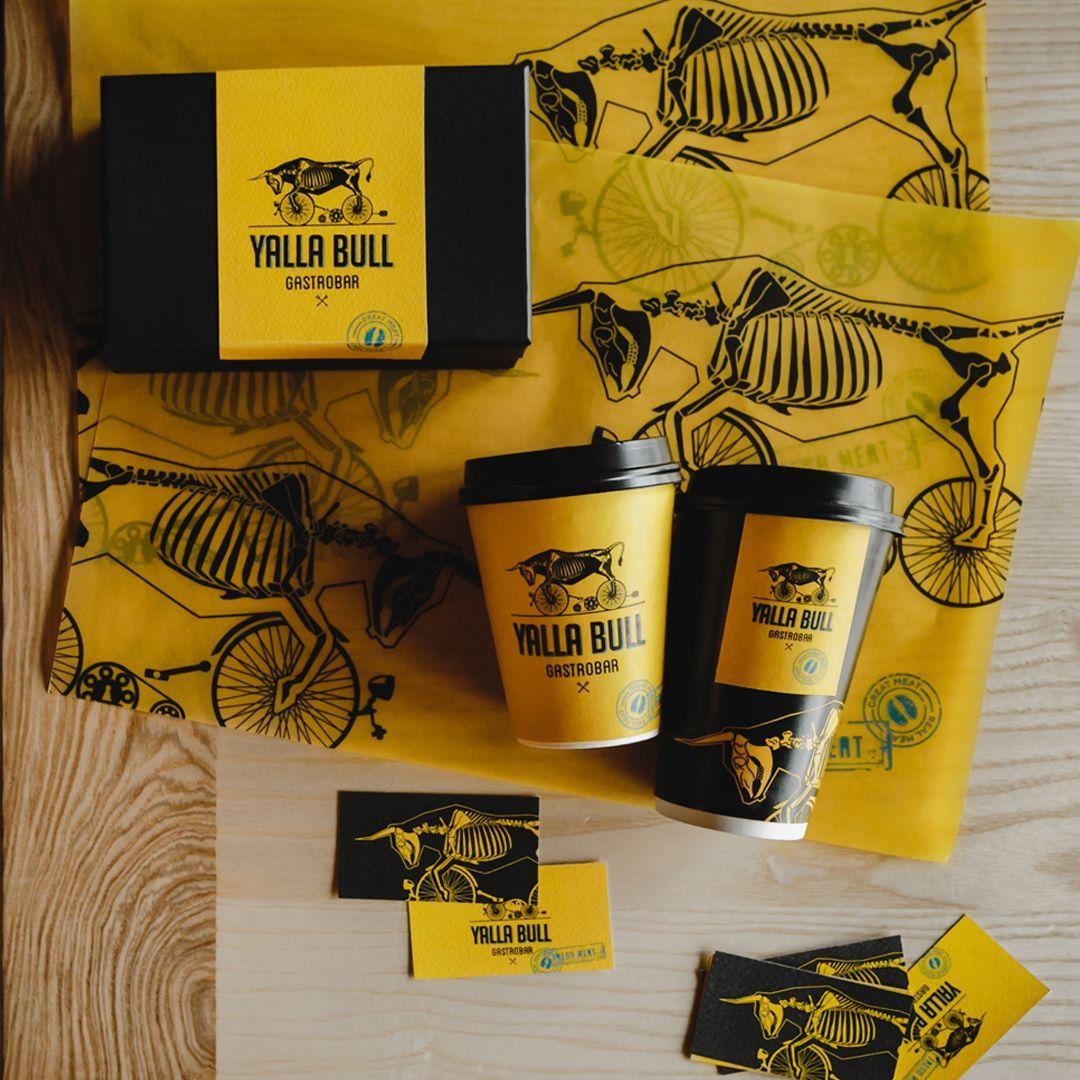 olena Fedorova - Identity and packaging design for gastro pub Yalla Bull - World... -  olena Fedorova – Identity and packaging design for gastro pub Yalla Bull – World Brand Design S - #Bull #Design #Fedorova #gastro #identity #olena #packaging #pub #trendfastfood #world #Yalla