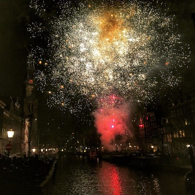 Earl & Lady Gray's Travelogue — New Year's Eve in Amsterdam was an incredible...