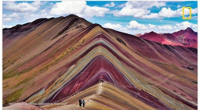 Peru's Vinicunca Mountain #YourShot member Tristan Oliff took this photo.
