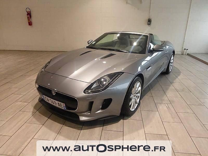 12 211 Km Au Compteur Voici Une Magnifique Jaguar F Type V6 3 0l De 340 Ch Disponible En Occasion A Paris 19e Une Occasion Excep Achat Voiture Jaguar Voiture