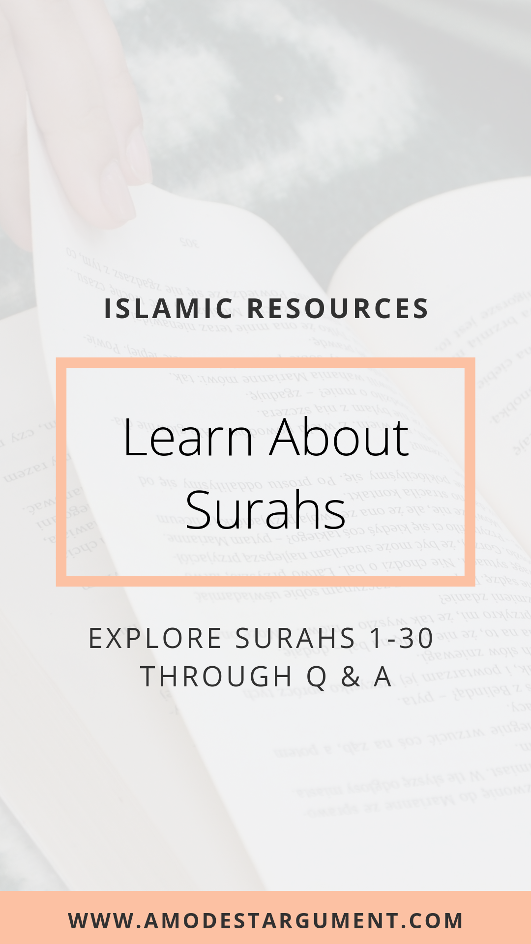 Learn About Surahs 1 30 With This Free Islmic Resource