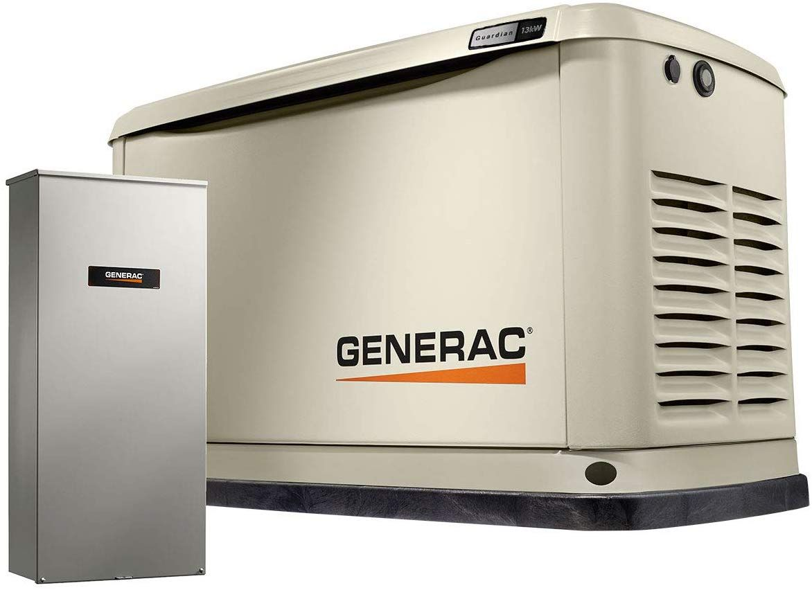 Generac 7175 Guardian 13kw Home Backup Generator With Whole House