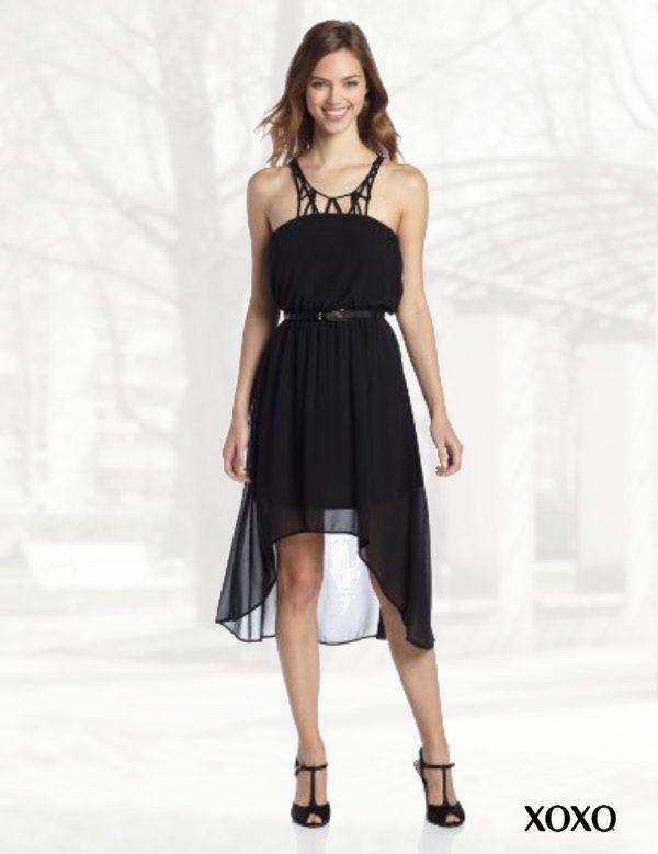 Xoxo one shoulder maxi dress