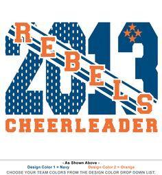 cheerleading t shirts google search - Cheer Shirt Design Ideas