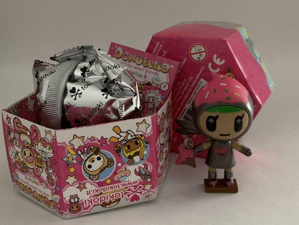 Choco Ninja Donutella and her Sweet Friends Series 2 Tokidoki Vinyl Figure
