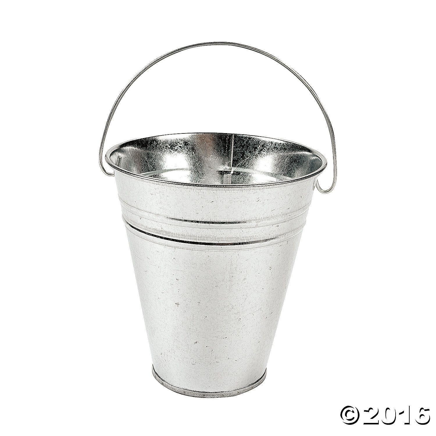 Large Galvanized Buckets. A party favorite! Fill these versatile metal buckets with toys, novelties, wrapped candy and other goodies! Fill them with Easter ...