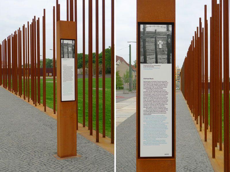 Gedenkstatte Berliner Mauer Berlin Wall Memorial Berliner Mauer Mauer Gedenken