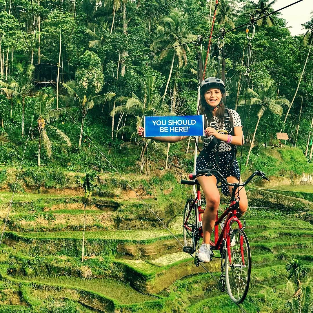 Watch The Best Youtube Videos Online Sky Cycling Bali Riding A