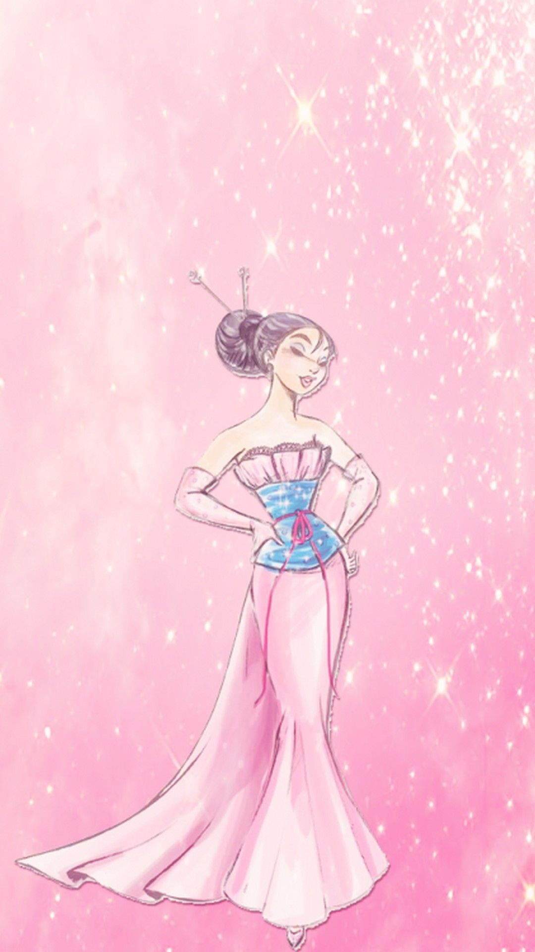 Girly Pink Wallpaper 1080p Hupages Download Iphone Wallpapers Disney Wallpaper Mulan Disney Cute Wallpapers